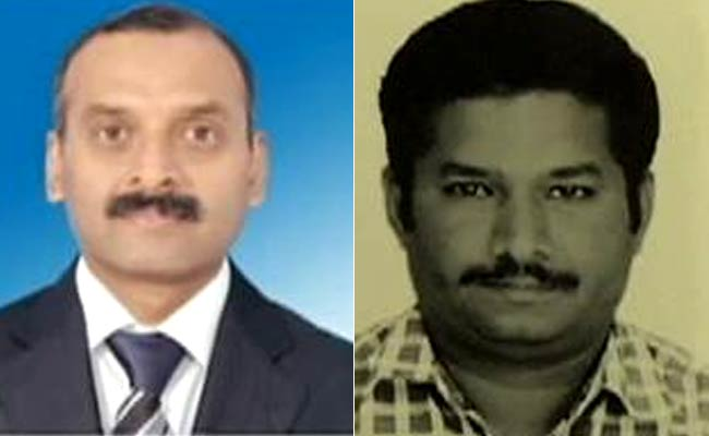 Lakshmikant and Vijay Kumar, the two Indians who have been released.