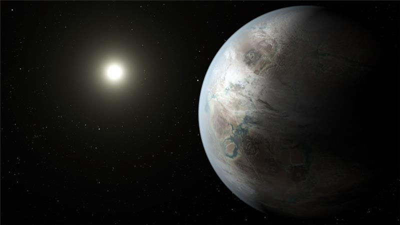Kepler 452b's star is 1.5 billion years older and 10 percent brighter than our sun [Credits: NASA/JPL-Caltech/T. Pyle]