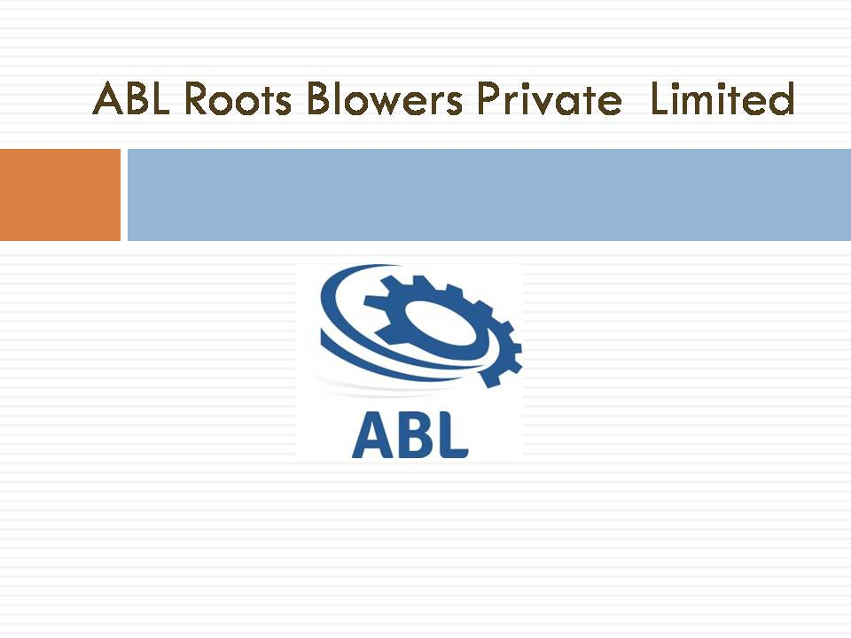 ABL ROOTS Blowers