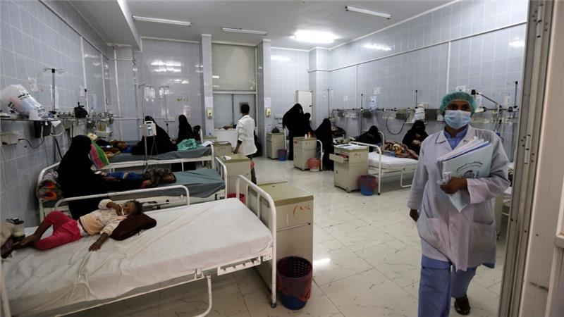 More than 15.2 million people are lacking access to basic healthcare across Yemen, according to Save the Children [EPA]