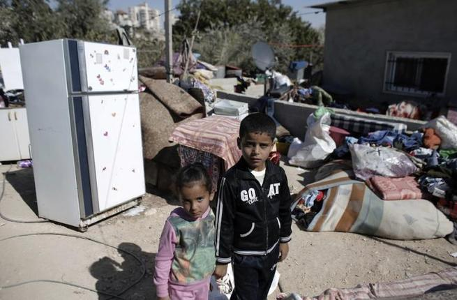 Some 13,000 Palestinian homes are scheduled for demolition in the occupied West Bank. (AFP/File)