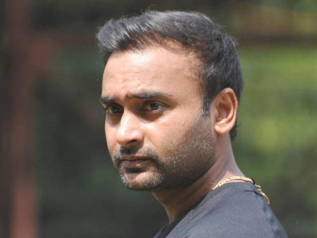 Indian cricketer Amit Mishra snapped during the preparatory camp for the forthcoming series against South Africa at National Cricket Academy in Bengaluru on September 23, 2015. Photo: G.P. Sampath Kumar
