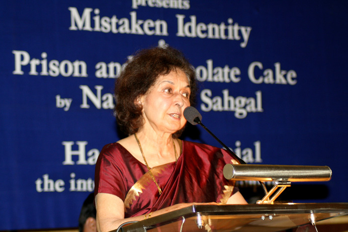 File photo Nayantara Sahgal. Credit: Wikimedia Commons