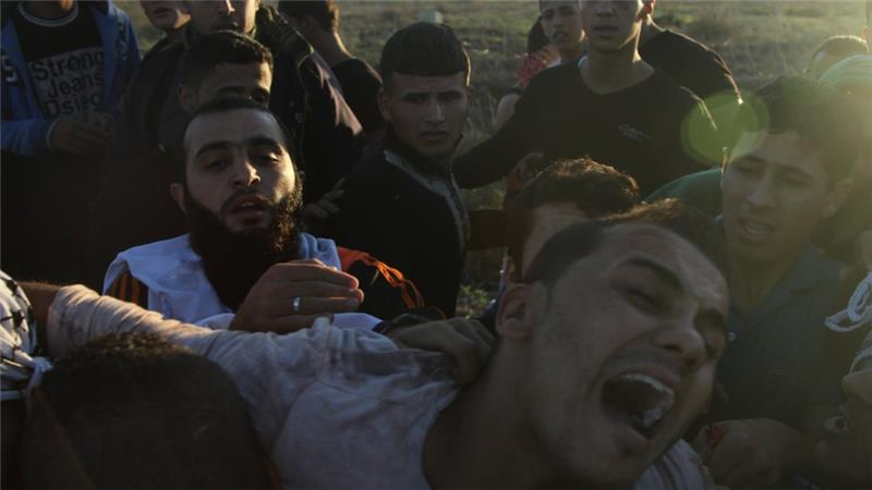 Palestinians decry Israel's heightened security measures which have led to several killings [Al Jazeera/Ezz Zanoun]