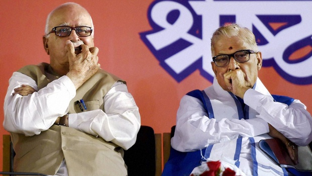 L K Advani Murli Manohar Joshi
