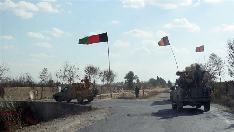 Afghan commanders have appealed for NATO close air support to bombard Taliban positions in the Helmand province of Afghanistan [Abdul Khalik/AP Photo]