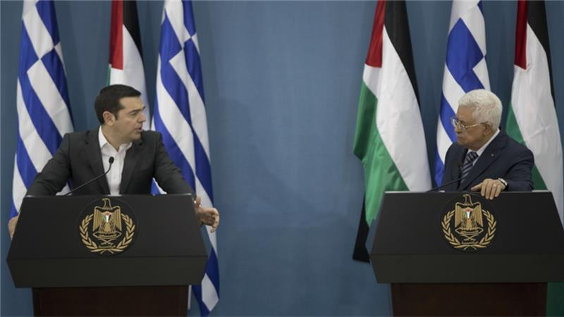 Greece is expected to join dozens of other countries that accord recognition to Palestine [AP]