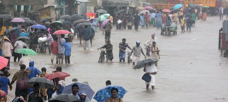Heavy rain Tamil Nadu