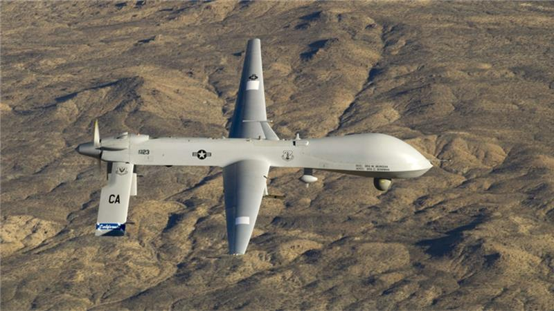 The Pentagon said most ISIL leaders were killed in drone strikes in Syria and Iraq [US military/Reuters]