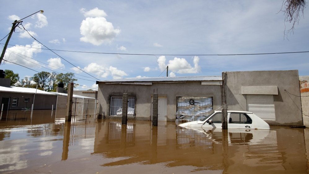 Authorities estimated that it could take months for some affected areas to recover from the floods [AP]