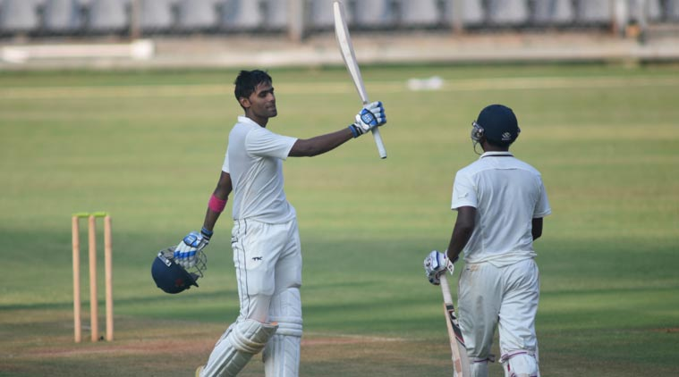 Suryakumar Yadav stroked his way to 103 not out off 159 balls – studded with 3 sixes and 9 fours. (Source: Express Photo by Kevin D'Souza)