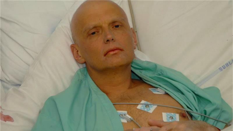 Alexander Litvinenko died in London in 2006 after drinking tea laced with a radioactive substance [EPA]