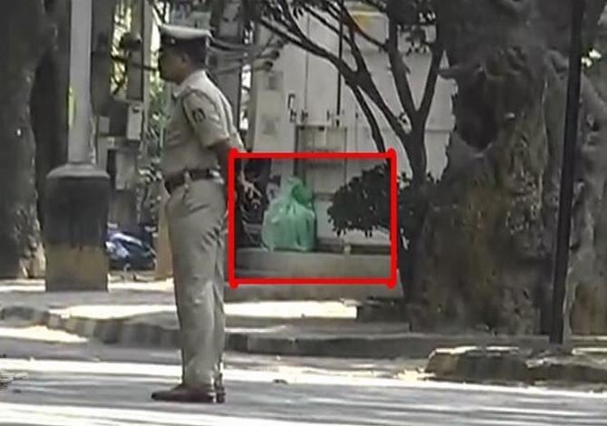 Cauvery Theatre bomb