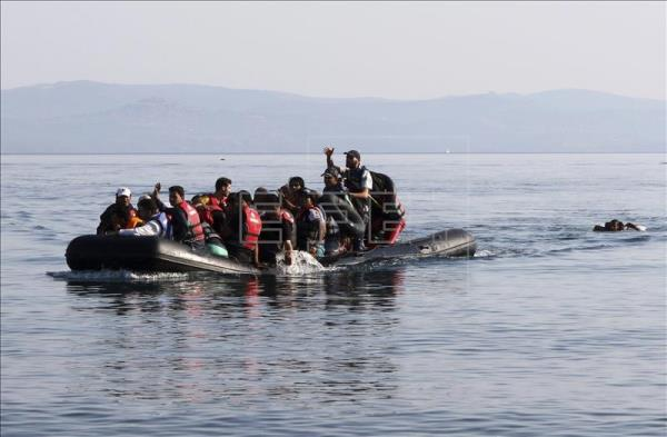 About 850,000 refugees crossed into Greece last year