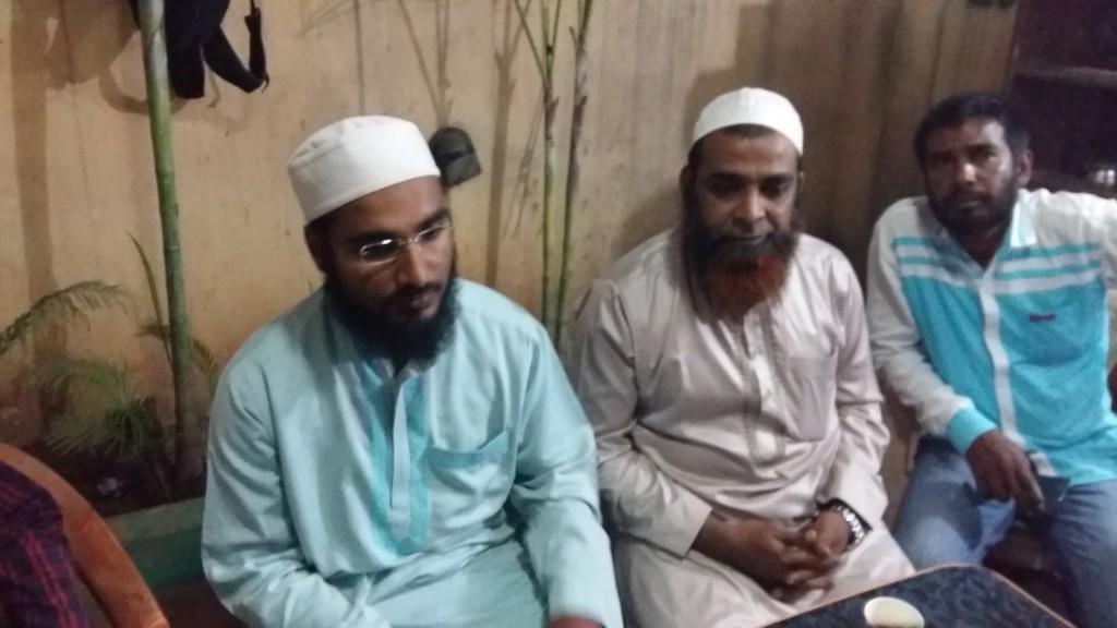 Syed FauzanShah Qasmi (Extreme left).