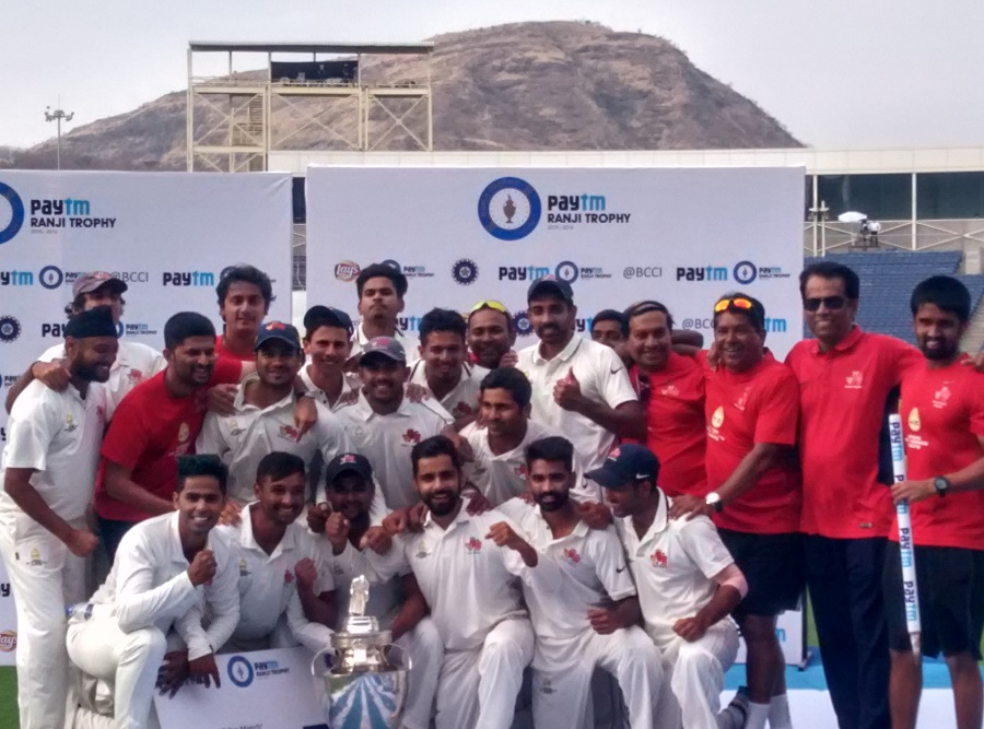 Mumbai claimed their tenth innings victory in Ranji Trophy finals	© John Michel, ESPN.