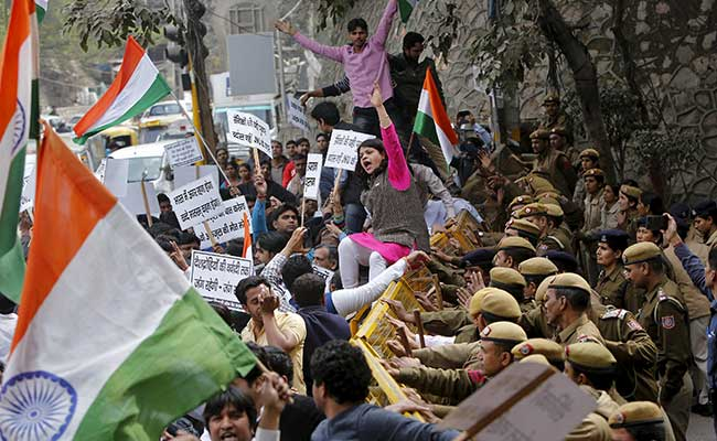 jnu-students-protest