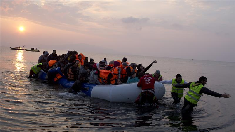 Many refugees have died while fleeing to European countries on rickety boats [AP]