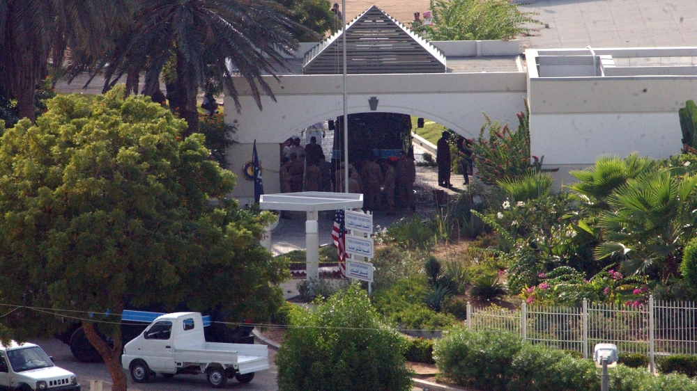 Five gunmen stormed the US consulate in Jeddah in 2004 in a gun and bomb attack [File: AP]