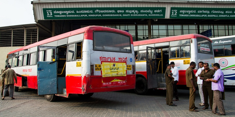Karnataka bus strike