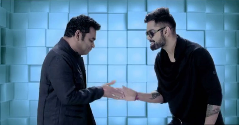 VIRAT KOHLI DANCES TO AR RAHMAN TUNES