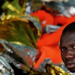 2017 shows no sign of departures slowing with 2,300 migrants registered in Italy since January 1 [Yannis Behrakis/Reuters]
