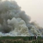 Bellandur river catches fire again