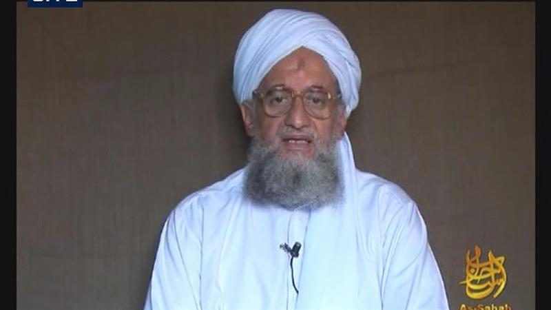 Ayman al-Zawahiri had not spoken publicly for several months, and has not been seen on camera for some time [EPA/SITE Institute]