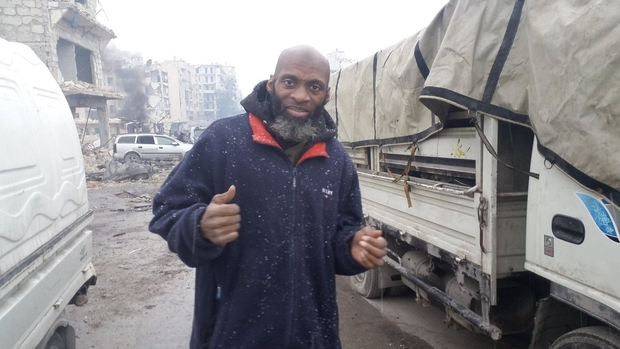Bilal Abdul Kareem has been reporting from rebel-held northern Syria since 2012 (Twitter).