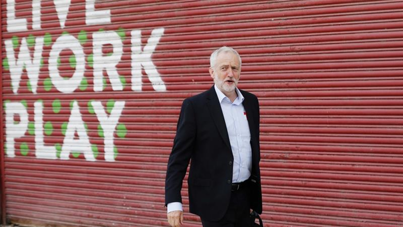 Corbyn is a veteran socialist and anti-war campaigner [File: Darren Staples/Reuters]