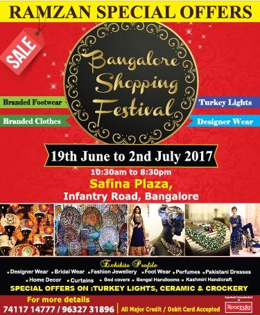 Bangalore Shopping Festival