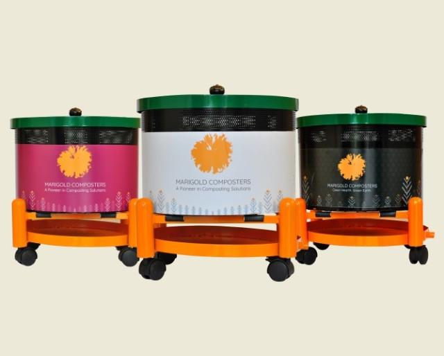 Marigold Solar Composters