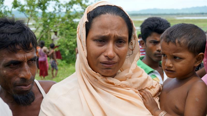 More than 90,000 Rohingya have been forced to flee their homes since a crackdown in Rakhine state began in October [Simon Lewis/Reuters]