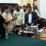 First woman takes oath for Ramnagar constituency